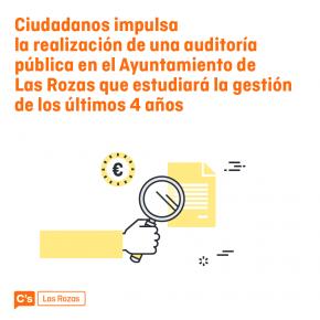 Ciudadanos (C's) Las Rozas impulsa la realización de una auditoria del Ayuntamiento