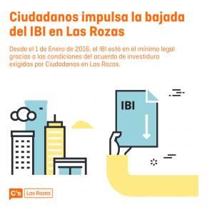 Ciudadanos impulsa la bajada del IBI en Las Rozas