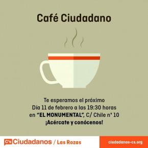 Café Ciudadano jueves 11 de febrero