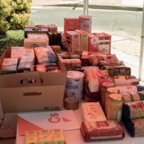 Ciudadanos (Cs) Las Rozas pone en marcha una recogida de alimentos solidaria en beneficio de Cáritas para ayudar a las familias a superar la crisis del Covid-19