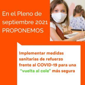 Ciudadanos Las Rozas pide que se puedan realizar los test de antígenos en los centros educativos